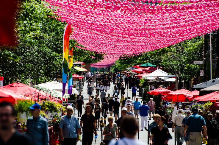 Montreal Gay Village, Canadá