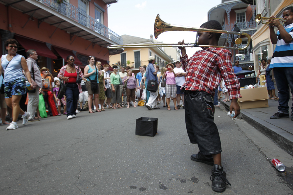 Música callejera en el French Quarter | Chris Granger, The Times Picayune