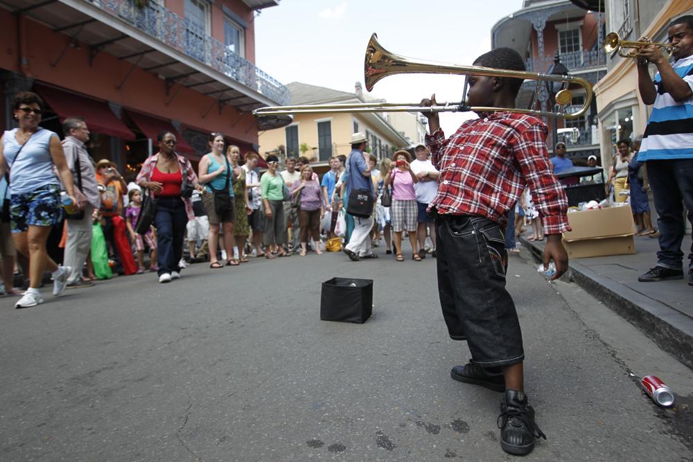 Música callejera en el French Quarter | Chris Granger, The Times Picayune